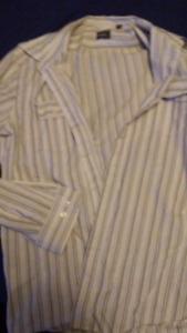 Men's Dress Shirts (2) L-XXL
