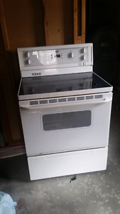Glass top stove - PICK UP ONLY