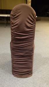 Brown Chair covers for banquet hall or restorant