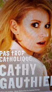 Je Recherche dvd cathy gauthier (pas trop catholique)