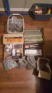 Lots of screws and nails