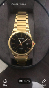 150$ gold citizen watch