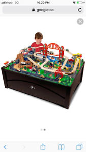 Train table (Kidcraft Metropolis) USED
