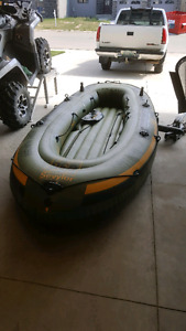6 person zodiac inflatable boat