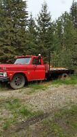 vintage 1966 chevy flat deck dually