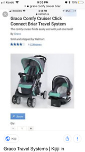 Car seat stroller and base