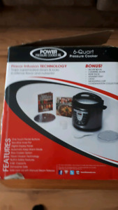 New power pressure cooker XL
