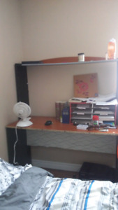 Free desk and shelf