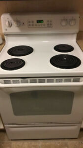 General Electric White Oven