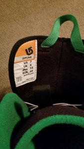 Burton Zipline boots size 7