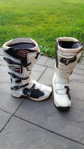 REDUCED!!! MOTOCROSS GEAR - MENS BOOTS, BODY ARMOUR, HELMET