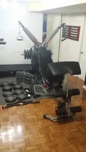 Bowflex Revolution with all the upgrades
