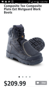 Welders safety work boots size 10