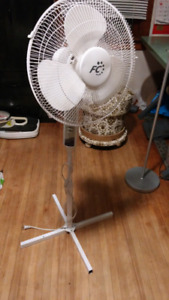 FC. Oscillator stand up white Fan