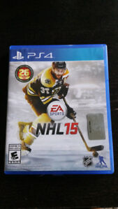 NHL 15    PS4  GAME  ONLY $20
