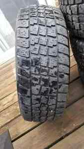 195 60 15 X treme Avalanche snow tires made in USA