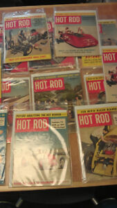 "1952 ""Hot Rod Magazines""...(13)"