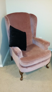 Moving Sale - Wing back arm chair