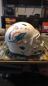Signed Mike Gesicki Speed Rep Helmet