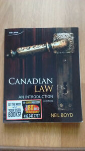 Canadian Law: An Introduction (Sixth Edition) by Boyd