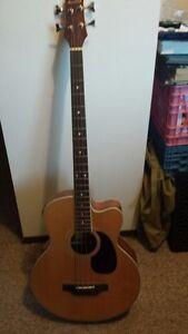Beaver Creek four string bass guitar  $225.00 firm