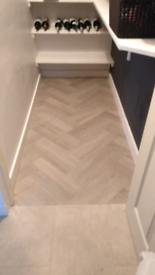 New lino flooring