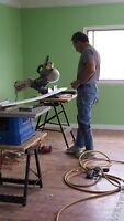 Rick's Flooring and Painting Services. Free Estimates.