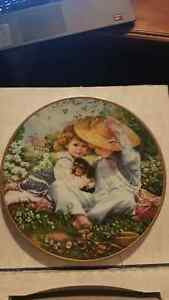"""A Time to Love"" March of Dimes Collectors Plate 1989 Kitchener / Waterloo Kitchener Area image 1"