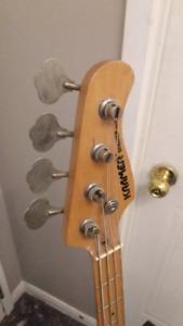 Kramer Strike 700st Bass guitar PJ made in Korea