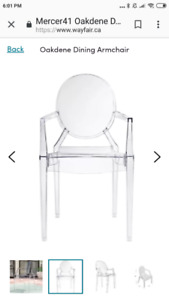 New Ghost Chair