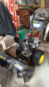 "27"" Electric and pull start Brute Snowblower"