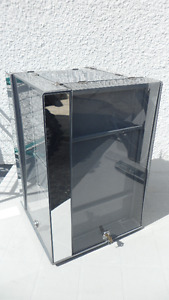 Display Case that rotates and locks $20