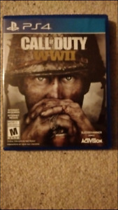 cod ww2 like new for ps4 $50
