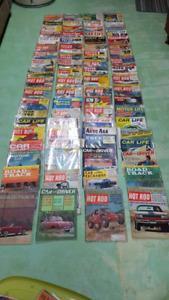 Vintage car enthusiast magazine bundle
