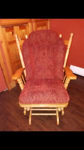 Rocker glider chair