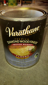Half can of Premium wood stain sealer