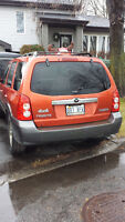 2005 mazda tribute AWD 4x4 V6 great for winter