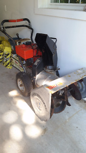"""Craftsman 8HP, 28"""" cut, 2 stage snowblower with electric start"""