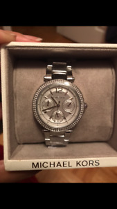 Brand New Authentic Michael Kors Silver  Watch with Tags