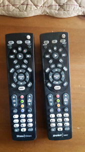 Shaw Direct Remotes