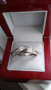 Bague diamant Jonc eternite