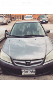 Honda Civic 2005 good on gas great condition