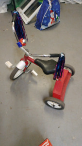 Tricycle for sale sturdy not plastic