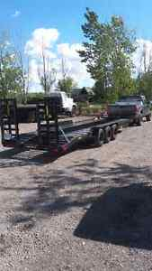 27ft Tri Axle Float