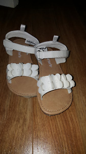 Girls size 11 sandals from Carters