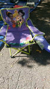 Tinkerbell camp chair with bag:  $8