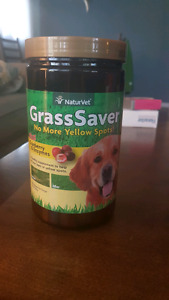 Grass Saver wafers for dogs