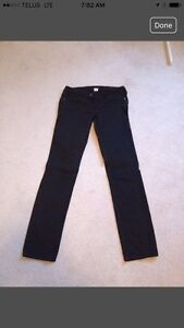 Black Silver Jeans - low rise Tuesday Slim style