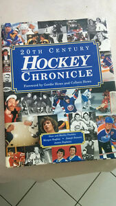 Hockey chronicles hardcover book