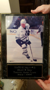 Mats Sundin wall picture plaque Toronto Maple Leafs